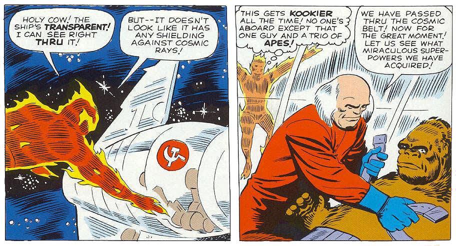 Extrait de Fantastic Four # 13